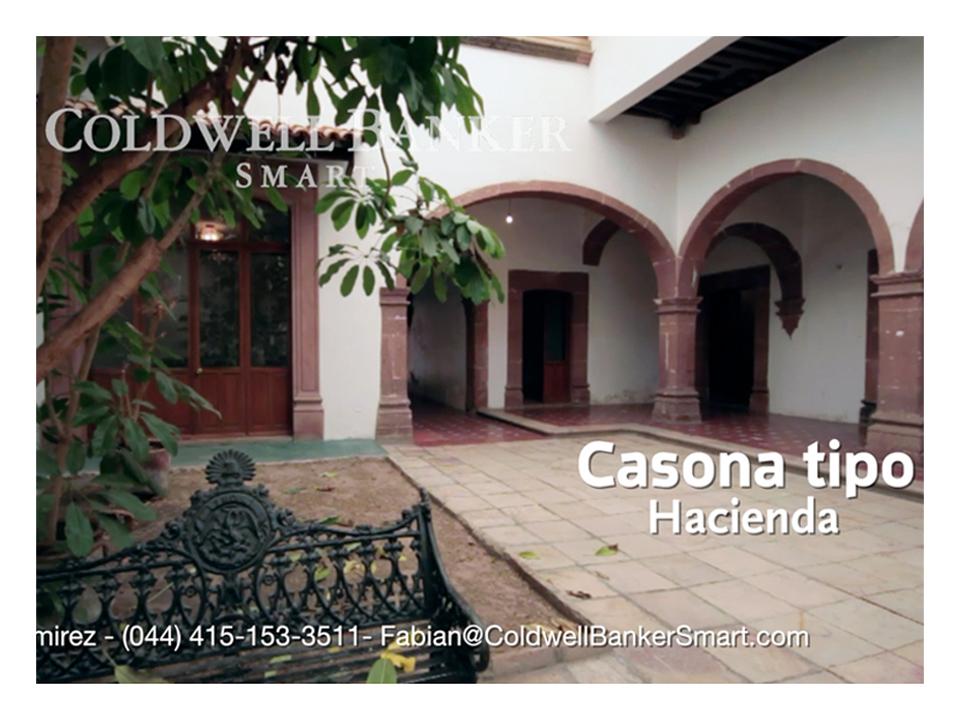 Real Estate San Miguel de Allende – Casona San Francisco