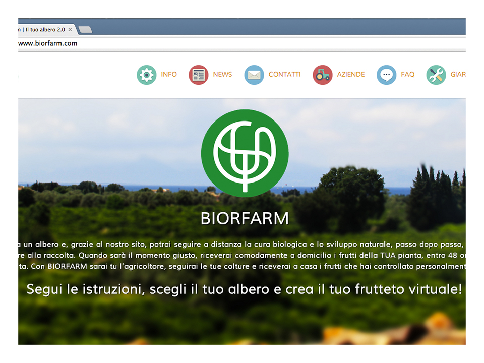 Biorfarm – Web Development