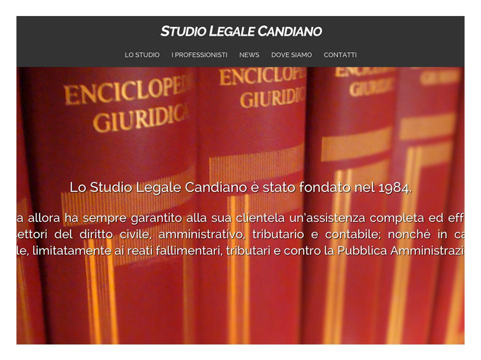 STUDIO LEGALE CANDIANO